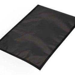 VAKUUMBEUTEL schwarz/transparent glatt 90µm