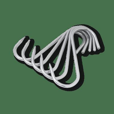 Kleidung Gartenger/äte Pflanzen K/üchenflache S-Form Haken Hochleistungs-Edelstahl-Aufh/ängehaken f/ür K/üchenutensilien Schal Mattschwarz Xstar 10er Pack S Haken Utensilien Handt/ücher